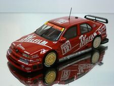 MINICHAMPS ALFA ROMEO 155 V6 TI DTM TV SPIELFILM #12 - RED 1:43 - VERY GOOD - 20