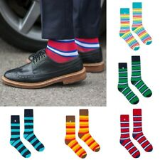 4LCK colourful striped Socks - red, blue, green, yellow, orange, rainbow stripes