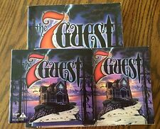 The 7th Guest PC Software Game (PC, 1993) w/ Official 356 Page Strategy Guide