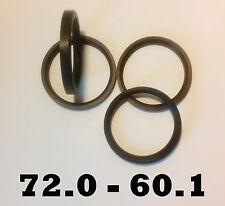 4 x 72,0 - 60,1 Jante en Alliage anneaux Moyeu central JOINTS RENAULT LEXUS