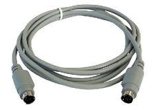 Largo 10 M Ps/2 Macho / Macho Cable De Datos De Plomo 6 Pin Mini Din De 10 Metros Extension Lead