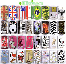 COVER CUSTODIA BACK CASE RIGIDA PER NOKIA LUMIA 610 N610
