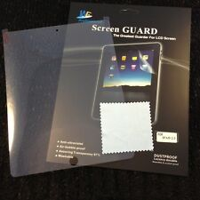 3x Clear Front Premium Screen Protectors for Apple iPad Air