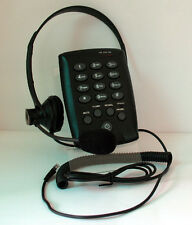 New CallTel T100 Headset Telephone DTMF with MUTE for Small Office & Home Office