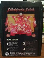 "BLACK SABBATH ""SABBATH BLOODY SABBATH"" 8 TRACK TAPE -  REPRO LABEL"