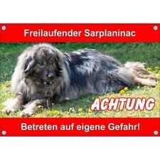 Exceptional Dog Sign Sarplaninac-Uv-resistant Warning Sign-Shepherd Dog