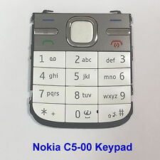 100% Genuine Original Nokia C5-00 Keypad Fascia Housing - White