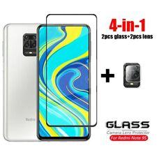 4-in-1 For Xiaomi Redmi Note 9S Glass Poco X3 M3 10T 8T 8 T 9 Pro Tempered