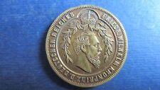 Medaille Bronze Preussen Friedrich Wilhelm Kronpr. furchtlos und beharrlich(N61)