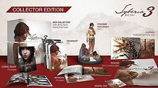 SYBERIA 3 COLLECTOR'S EDITION PC DVD NEW PAL ENGLISH COLLECTORS WITH SYBERIA 1&2