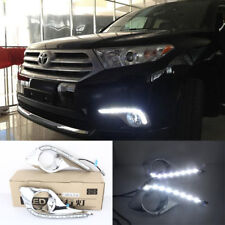 LED DRL Daytime Running Lights DRL Lamp For TOYOTA Highlander 2009-2011