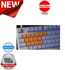 Tai-Hao TPR Rubber Backlit Double Shot 18 Keys Neon Orange KEY0085