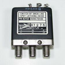 1pc Transco 82152-909C70100 Dc-18Ghz 28V Sma Rf Switch