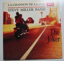 "STEVE MILLER BAND - The Joker  (SP 45T 7"") PUBLICITE LEVI'S 1990"
