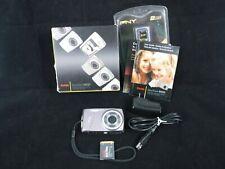 Kodak EasyShare M550 12Mp Digital Camera w/ Cable Adapter Sd Card Manual - Tan
