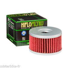 Filtre à huile Hiflofiltro HF137 Suzuki DR600 Dakar 86-89 / DR600S 85-89