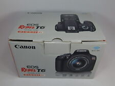Canon EOS Rebel T6 (W) 18MP Digital SLR Camera Kit with EF-S 18-55mm IS II Lens