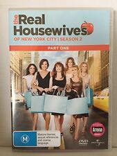 THE REAL HOUSEWIVES OF NEW YORK CITY~SEASON TWO 2/PART ONE~2 x AS NEW PAL DVD's