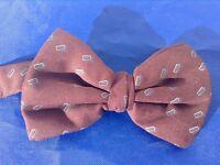 Outstanding PATRICK HILTON Silk Bow Tie M. I. Italy