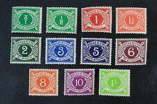 Ckstamps: Gb Stamps Collection Ireland Scott#J5-J14 Mint H Og