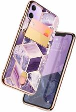 i-Blason For iPhone11, New Slim Designer Wallet Case Cover ID Card Holder 6.1""