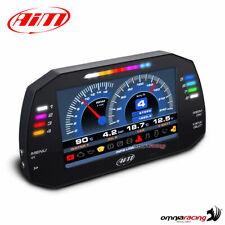 """Strumentazione AIM MXG 1.2 Strada display TFT 7"""" cruscotto auto+cavo OBD (CAN+K)"""