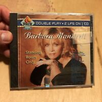 BARBARA MANDRELL - Standing Room Only (Double Play 2 LPs On 1 CD)- BN Sealed CD