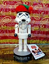 Light Up Star Wars Storm Trooper Christmas Holiday Nutcracker *NEW*