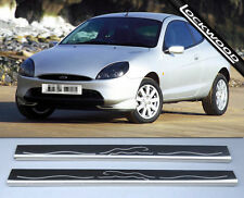 Ford Puma Stainless Steel Sill Protectors / Kick Plates