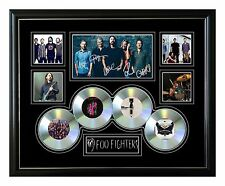FOO FIGHTERS SIGNED LIMITED EDITION FRAMED MEMORABILIA