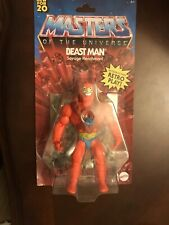 Masters Of The Universe He-Man Origins Beast Man Brand New Motu Beastman Retro