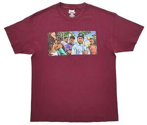 DGK Boyz N The Hood Tee Burgundy Size L Mens T-Shirt