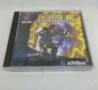TIME COMMANDO PS1 Sony Playstation game PAL complete