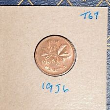 1956 High Grade Penny from old barn roll find - see scans  - inventory# T67