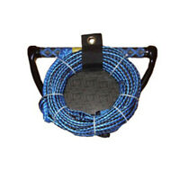 "Riders Inc Water Ski Kneeboard Tow Rope with EVA 13"" Handle BLUE"