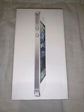 Apple iPhone 5 White 32GB Empty Box Tray Opened no phone no accessories