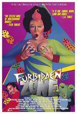 FORBIDDEN ZONE Movie POSTER 27x40 Herv  Villechaize Susan Tyrrell Marie-Pascale