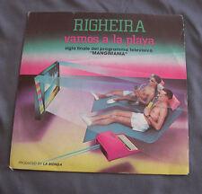 """Vinilo SG 7"""" 45 rpm MICHAEL & JOHNSON RIGHEIRA  VAMOS A LA PLAYA  Record"""
