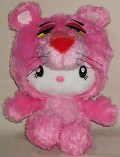 Hello Kitty x Pink Panther Plush Dolls USJ limited edition Sanrio 2011 Rare