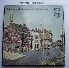 5BB 119-20 - 25 YEARS AT THE ALDEBURGH FESTIVAL - Ex Con 2 LP Record Box Set