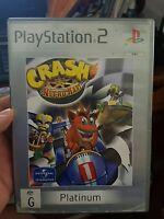 Crash Nitro Kart (no booklet) - PLAYSTATION 2 PS2  - FREE POST