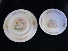 Bone China  Albert Bowl Beatrix Potter Jemima Puddle Duck Tom Kitten Plate