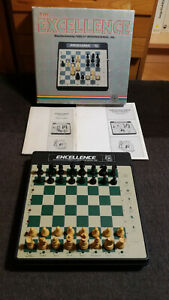 EXCELLENCE CHESS COMPUTER by FIDELITY ELECTRONICS