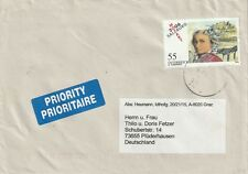 2006 Austria cover to Pluderhausen Germany with stamp Mozart