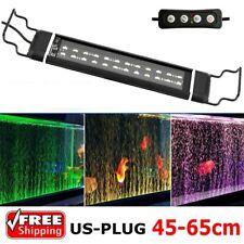 45-65cm Led Aquarium Lighting Timer Full Spectrum Light Rgb Fish Tank Lights Bar