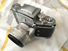 Exakta Varex VX Ihagee / 2 Objektive / Spiegelreflexkamera / Tasche
