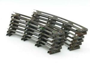 American Flyer S Gauge Curve Track #702 12 Pieces in Good Usable Condition