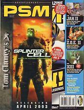 PSM May 2003 X-Men, Jak 2, Medal of Honor Rising Sun  VG 070816DBE2