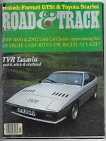 March 1981 issue of Road & Track Magazine