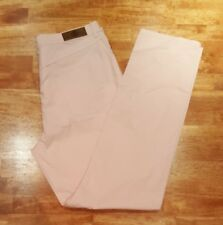 NEW! $260 Vintage Bogner Women's Casual Pants Pink,  Sz 14 Long, NWT Old Stock